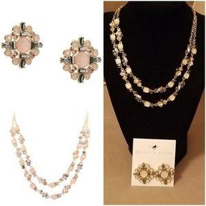 Kelly & Katie Artifact Necklace & Earrings Set